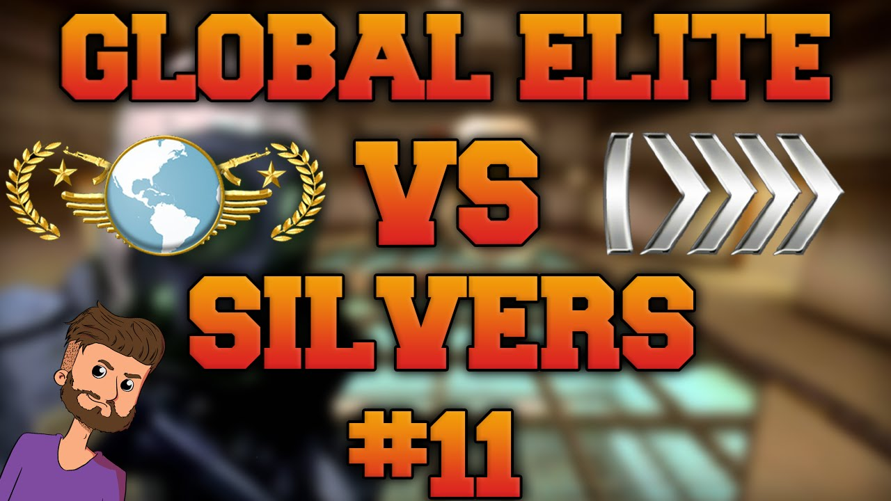 CS GO - Global Elite VS Silvers #11