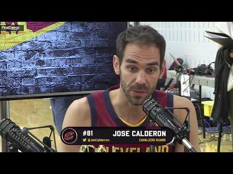 Interview To Jose Calderon #CavsMediaDay