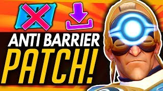 Overwatch | Massive ANTI-BARRIER Patch Tomorrow! - Buffs, Nerfs & Comparisons Summary