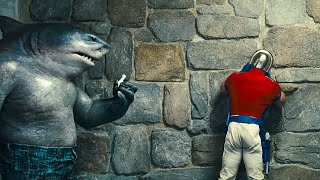 """THE SUICIDE SQUAD """"King Shark"""" Extended Clip! (2021)"""