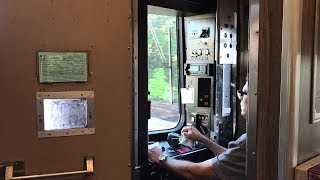 Metro-North Railroad HD 60fps: Making Power Mode Changeover on Budd M2 8702 on Train 1560 (8/23/17)