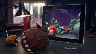 Angry Birds Star Wars 2 Telepods Commercial ft. Chewie - out September 19!