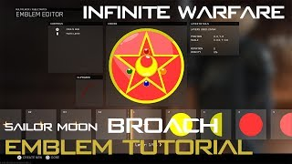 COD: Infinite Warfare Emblem Tutorial (Sailor Moon Broach)