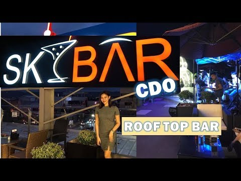 SKY BAR IN CAGAYAN DE ORO!  (ROOF TOP BAR)