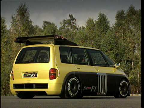 renault espace f1 youtube. Black Bedroom Furniture Sets. Home Design Ideas