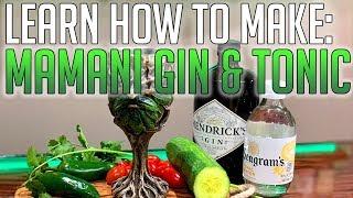 Mamani Cin & Tonik | AJ Barmen nasıl