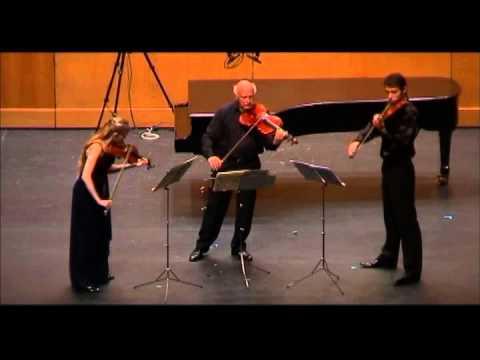 Antonín Dvořák - Terzetto, Op.74