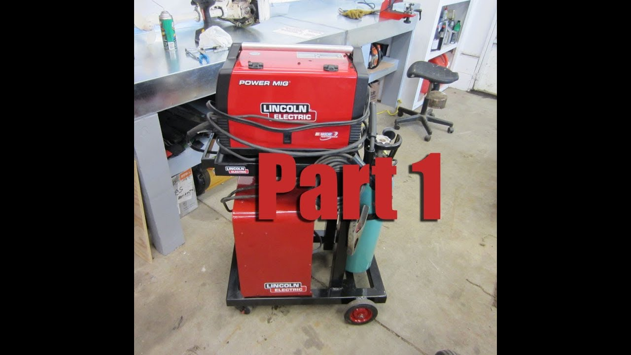 How To Build A Welding Cart For Mig amp Stick Welder Part