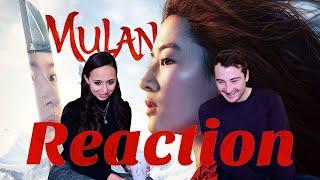 MULAN (2020)   Geekritique Trailer Reaction