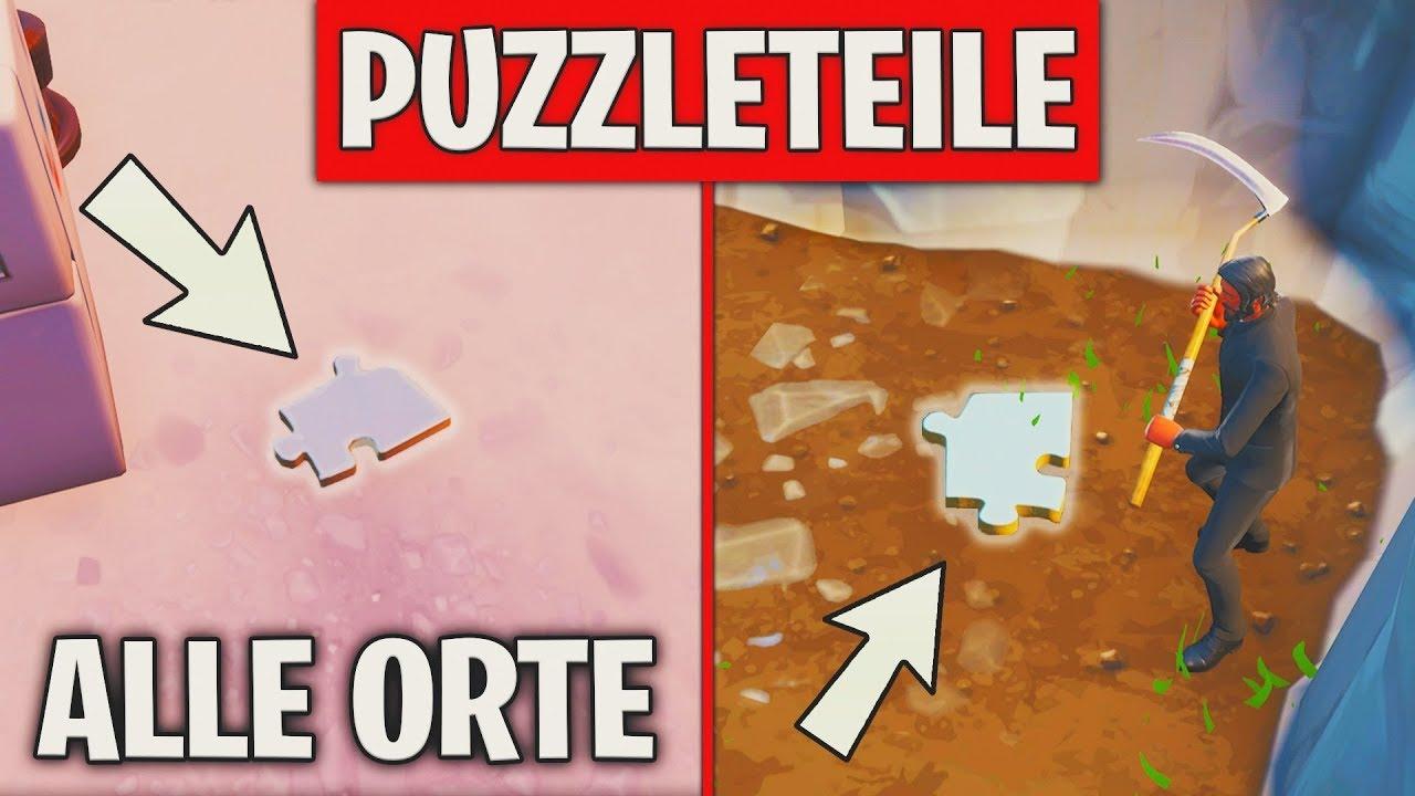 fortnite puzzleteile - suche unter brucken und hohe nach puzzleteilen fortnite