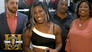 Ember Moon and her family get ready for TakeOver: Brooklyn III: Exclusive, Aug. 19, 2017 thumbnail