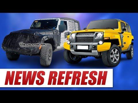 New Jeep Wrangler JL Updates PLUS BRONCO LEAKS!