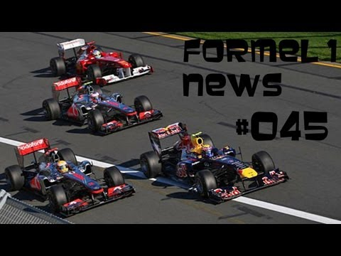 Formel 1 News #045 Saison 2013 13. Rennen/Singapur Analyse Qualifying + Tippspiel