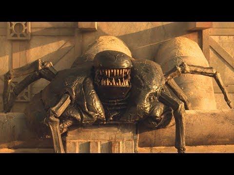 【穷电影】科学家到异星球,进行基因研究,没想到创造出一只能力可怕的怪物