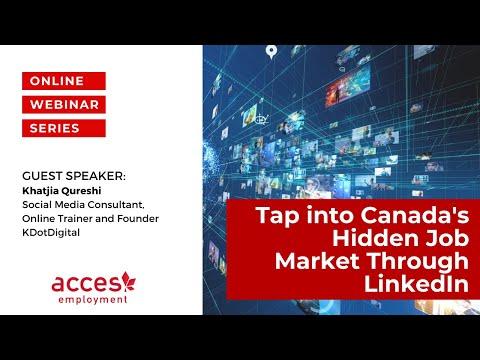 Tap into Canada's Hidden Job Market Through LinkedIn
