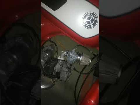 Motosiklet Alarm ve Kumanda ile Çalıştırma Kiti-Kuba RX9 Uygulama