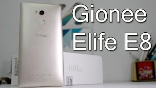 Gionee Elife E8 Unboxing And Hands On Review