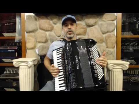 How to Play Brazilian Forró Music on Piano Accordion - Lesson 1 - Forró Groove