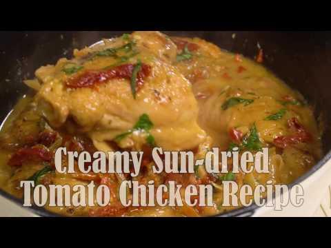 Creamy Sun-dried Tomato Chicken Recipe {Paleo, Clean Eating, Gluten Free, Dairy Free, Whole30}