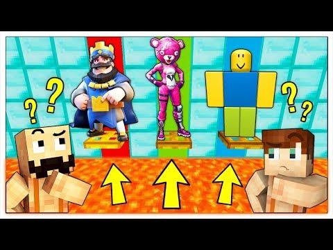 CHI SALVI TRA I VIDEOGIOCHI? - Minecraft ITA thumbnail
