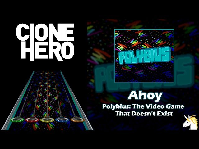 Clone Hero Chart Preview: Ahoy - POLYBIUS: The Video Game That Doesn't Exist