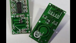 Coolest motion detection sensor ever!