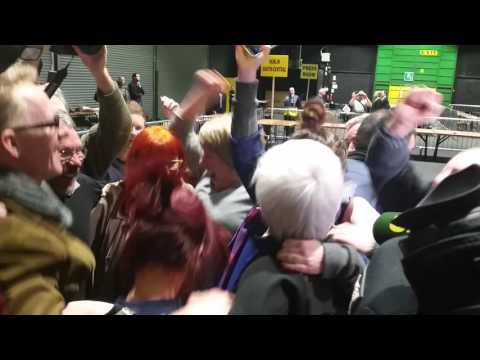 Bríd Smith elected: 'The workers, united, will never be defeated.'