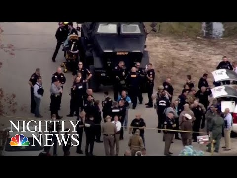 3 Police Officers Shot In Houston While Serving Warrant   NBC Nightly News