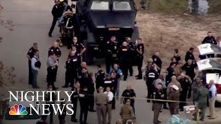 3 Police Officers Shot In Houston While Serving Warrant | NBC Nightly News