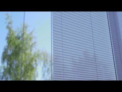 Lumon sun-protections shades - Transparent white