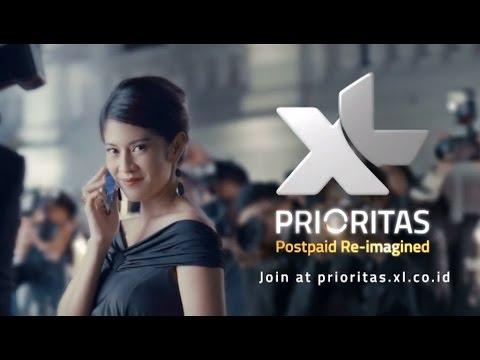 Nama Bintang Iklan XL Prioritas - Never Felt Like This Before