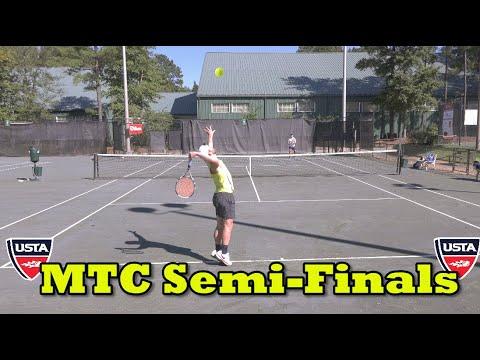 MTC Semi-Finals Tennis Highlights - Andrew vs TQ (2018)
