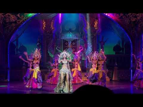 ALCAZAR CABARET SHOW PATTAYA THAILAND - 2018Feb(INDIA, ARAB SHOW)