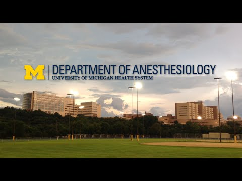 Michigan Anesthesiology - Residency Program (2014 Version)