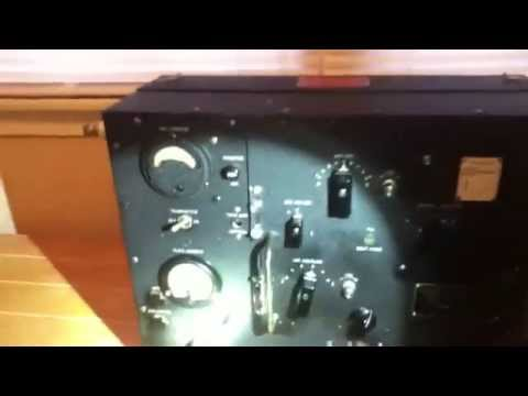 BC-223-AX Transmitter WW2 Part 1 of 2
