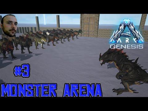 50 T-REX VS KING REAPER - ARK MONSTER ARENA # 3