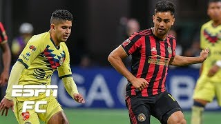 Atlanta United had their best game of the season vs. Club America - Herculez Gomez | Campeones Cup