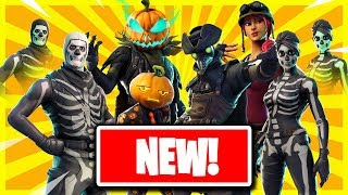 Fortnite HALLOWEEN *All LEAKED Items!* + Skull Trooper Return!