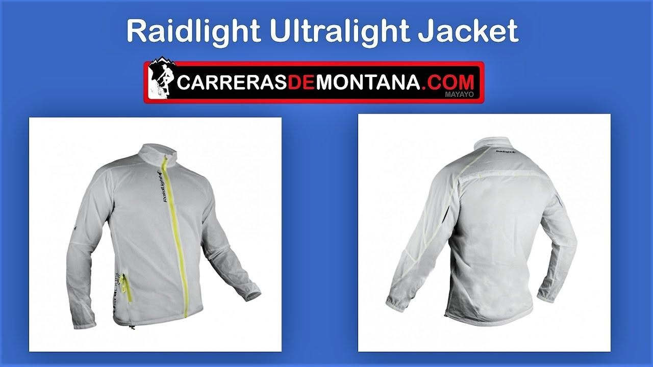 la compra auténtico gran calidad gran selección de Cortavientos Raidlight ultralight: Cortavientos running 100 gramos,  analizado por @cercedillatrail