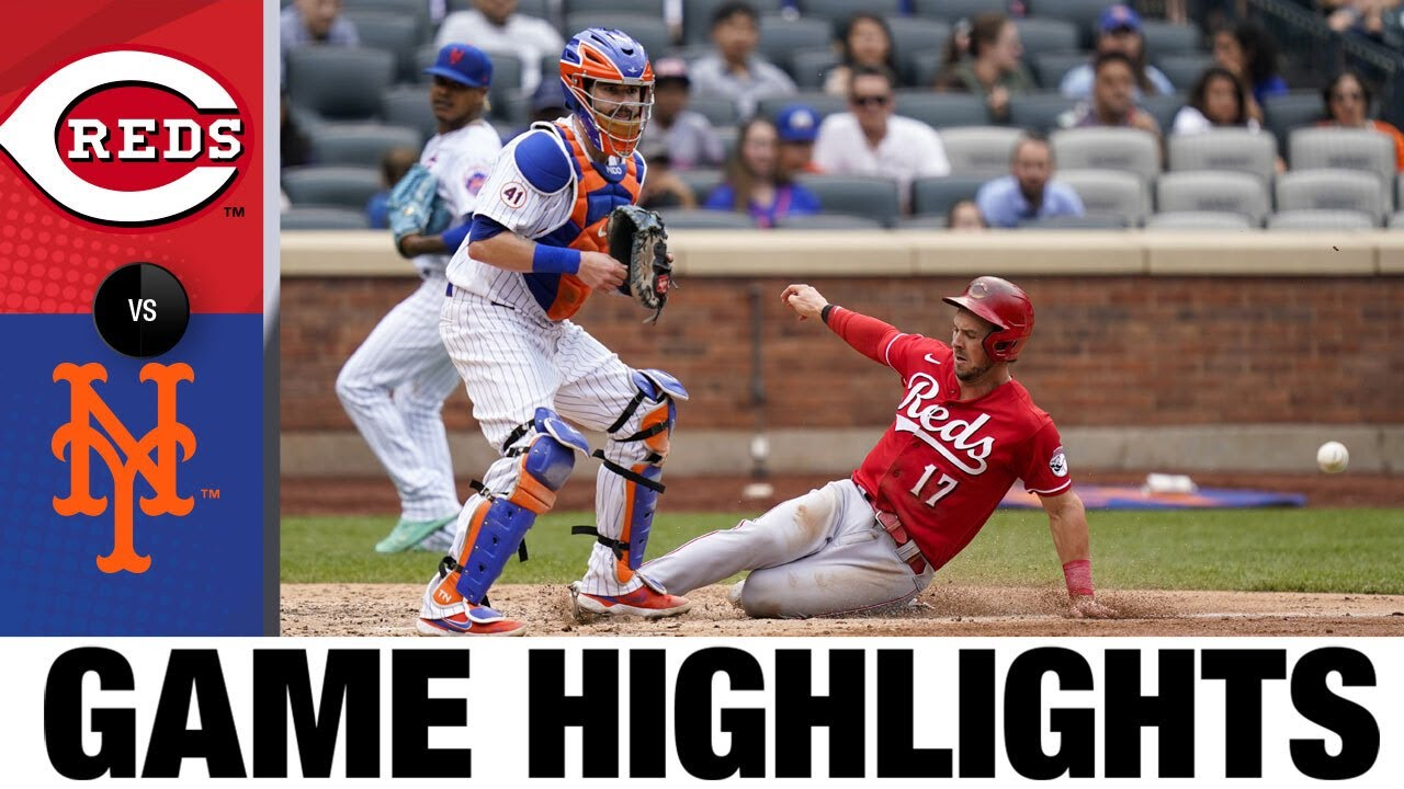 Download Reds vs. Mets Game Highlights (8/01/21) | MLB Highlights