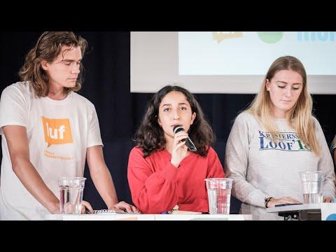 Paneldebatt 2018: Ungdomsförbunden