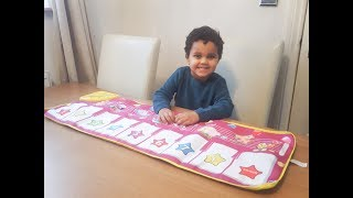 Education Music Singing Piano Mat for Kids | Unboxing and Playtime