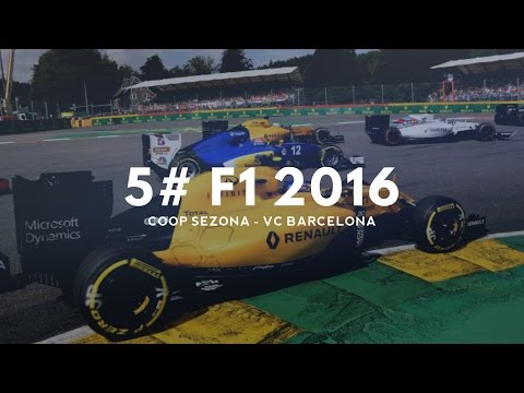 5# F1 2016 ► Coop sezóna ► VC Barcelona ► Thrustmaster T500Rs + F1 addon /21:9/ (CZ/SK)