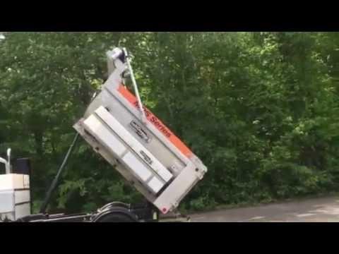 Municipal Dump Spreader Demonstration Presented By Tri-State Equipment Rebuilding ,Inc. Oxford,CT
