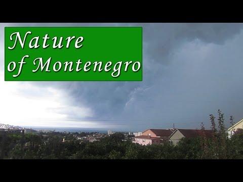 Big Thunderstorm in Montenegro