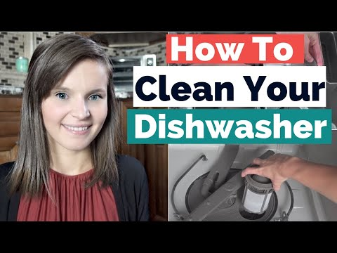 How To Clean Dishwasher With Vinegar and Baking Soda | How To Clean Dishwasher Filter