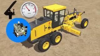 Автогрейдер SAG120-3, SAG200 марки SANY (Китай) - обзор, преимущества, презентация (Англ.)