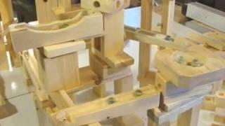 http://woodgears.ca/marbles/run.html A marble run built with my woo...