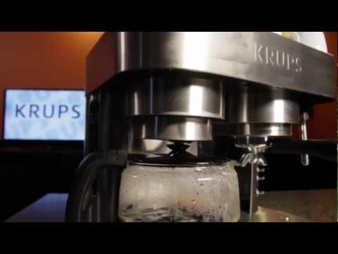 Krups XP604050 Combination Espresso Machine and Coffee Maker