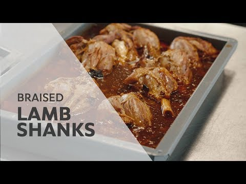 How-to braise Lamb Shanks with Recipe  RATIONAL SelfCookingCenter